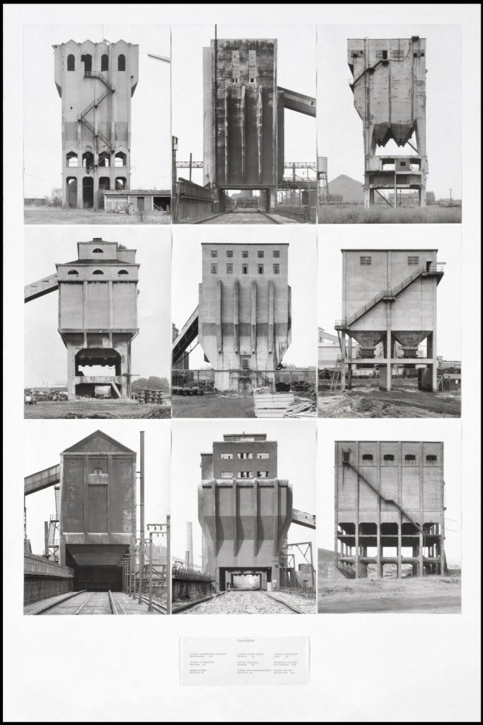 Coal Bunkers 1974 Bernd Becher and Hilla Becher 1931-2007, born 1934 Purchased 1974 http://www.tate.org.uk/art/work/T01923